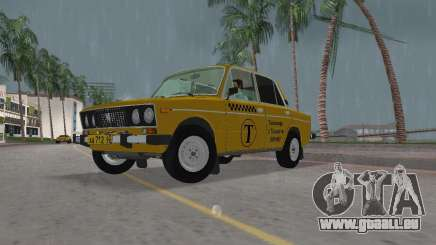 Taxi de VAZ 2106 pour GTA Vice City