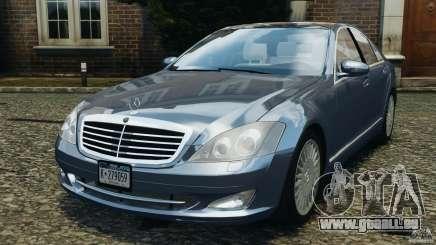 Mercedes-Benz W221 S500 2006 pour GTA 4