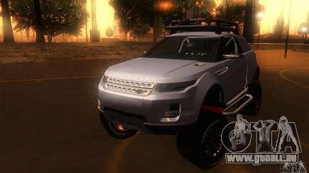 Land Rover Evoque pour GTA San Andreas