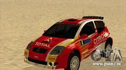 Citroen Rally Car pour GTA San Andreas