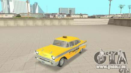 Chevrolet Bel Air 4-door Sedan Taxi 1957 pour GTA San Andreas