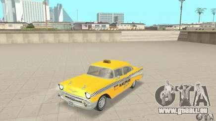 Chevrolet Bel Air 4-door Sedan Taxi 1957 für GTA San Andreas