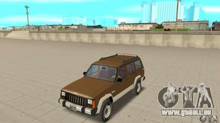 Jeep Grand Cherokee 1986 pour GTA San Andreas
