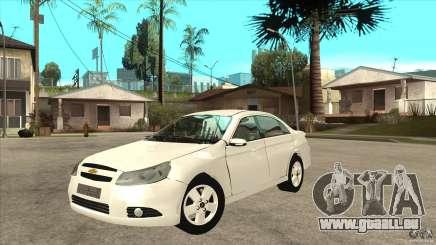 Chevrolet Epica 2008 pour GTA San Andreas