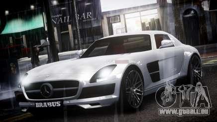 Mercedes-Benz SLS 2011 Brabus AMG Widestar v1.1 pour GTA 4