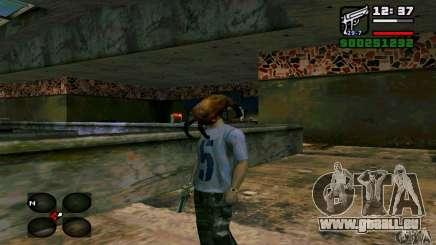 Headcrab für GTA San Andreas