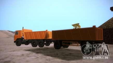 Trailer für MAZ 6317 für GTA San Andreas