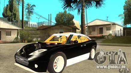Spyker D8 Peking-to-Paris pour GTA San Andreas