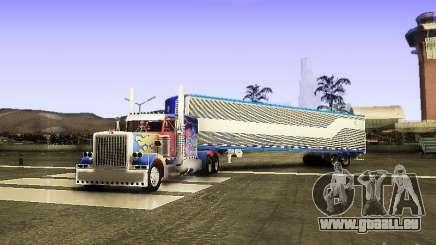 Truck Optimus Prime v2.0 für GTA San Andreas
