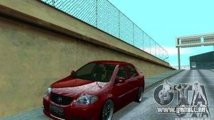 Toyota Vios pour GTA San Andreas