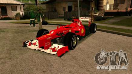 Ferrari Scuderia F2012 für GTA San Andreas