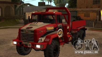Procès de KrAZ-6322 pour GTA San Andreas