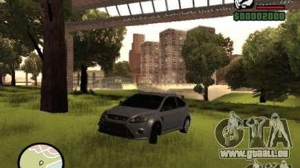 Ford Focus RS 2009 für GTA San Andreas