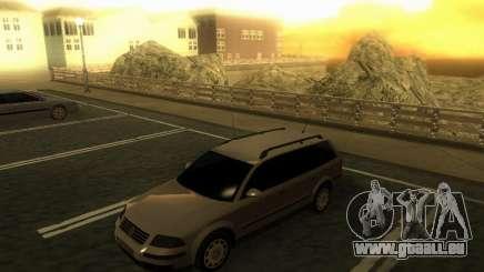 Vw Passat B5+ Wagon 1,9 TDi pour GTA San Andreas
