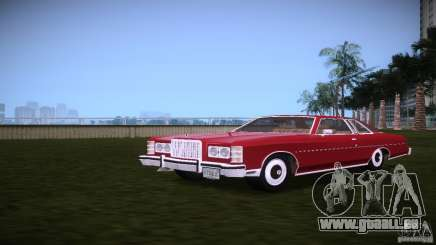 Ford LTD Brougham Coupe für GTA Vice City