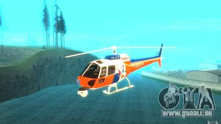 AS-350 TV pour GTA San Andreas