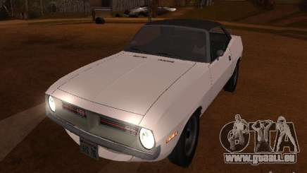 Plymouth Barracuda Rag Top 1970 für GTA San Andreas