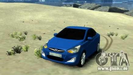 Hyundai Solaris Arab Edition pour GTA 4