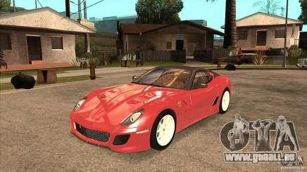 Ferrari 599 GTO 2010 V1.0 für GTA San Andreas