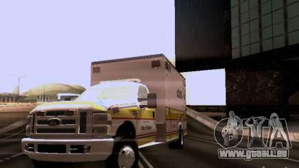 Ford F-350 Ambulance pour GTA San Andreas