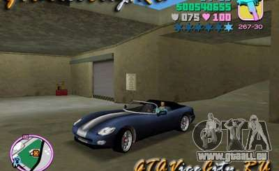 Dodge Viper von GTA 3 für GTA Vice City