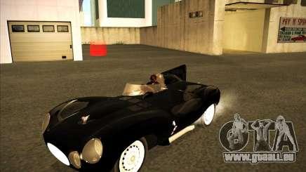 Jaguar D type 1956 für GTA San Andreas