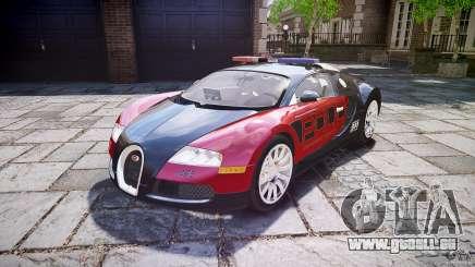 Bugatti Veyron 16.4 Police [EPM/ELS] für GTA 4