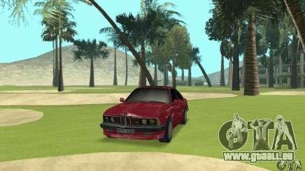 BMW M6 E24 stock pour GTA San Andreas