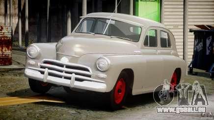 GAZ M20V remportant américaine 1955 v1.0 pour GTA 4