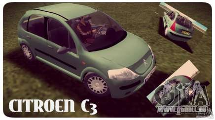 Citroen C3 pour GTA Vice City