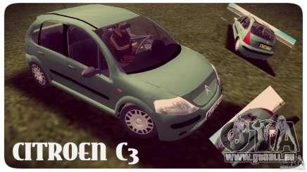 Citroen C3 für GTA Vice City