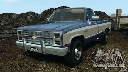 Chevrolet Silverado 1986 pour GTA 4