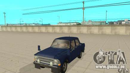 Moskvitch 412 avec tuning pour GTA San Andreas