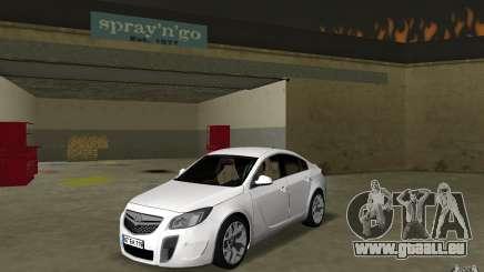 Opel Insignia pour GTA Vice City