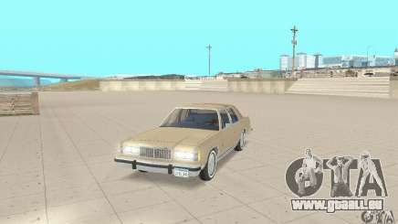 Mercury Grand Marquis LS 1986 für GTA San Andreas