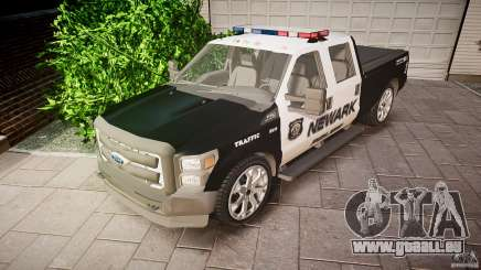 Ford F350 Marked [ELS] pour GTA 4