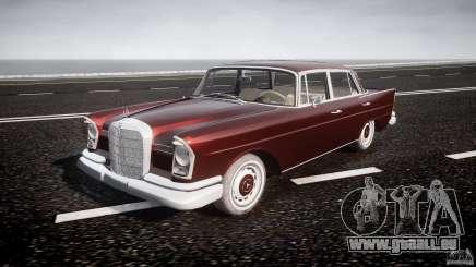 Mercedes-Benz W111 v1.0 pour GTA 4