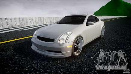 Infiniti G35 Coupe 2003 JDM Tune für GTA 4