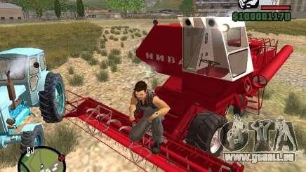 SK-5 Niva Mähdrescher für GTA San Andreas