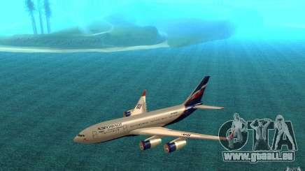 Die IL-96-300 Aeroflot in neuen Farben für GTA San Andreas