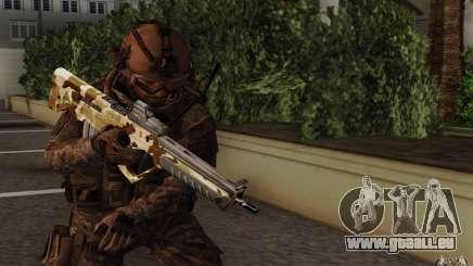 Tavor Tar-21 Camodesert für GTA San Andreas