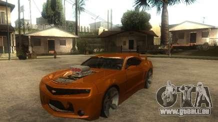 Chevrolet Camaro SS Dark Custom Tuning für GTA San Andreas