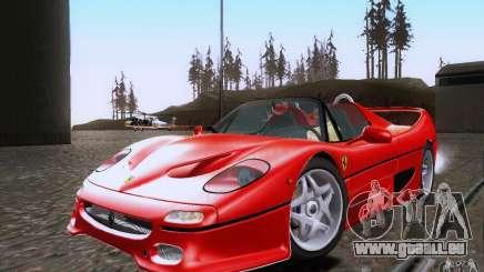 Ferrari F50 v1.0.0 1995 für GTA San Andreas