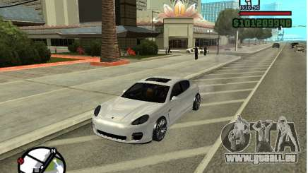 Porshe Panamera pour GTA San Andreas