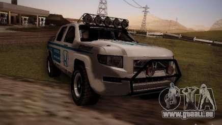 Honda Ridgeline Baja White für GTA San Andreas
