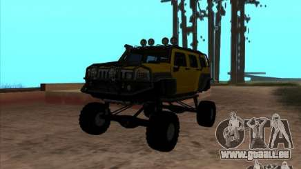 Hummer H3 Trial für GTA San Andreas