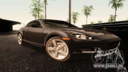 Mazda RX-8 Tuneable pour GTA San Andreas