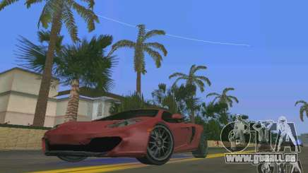 McLaren MP4-12C für GTA Vice City