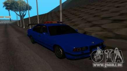 BMW M5 POLICE pour GTA San Andreas