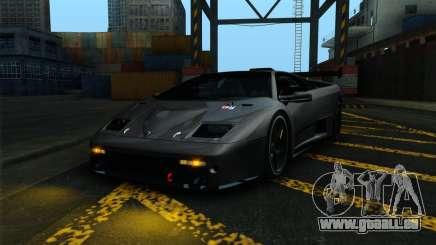 Lamborghini Diablo GTR V1.0 1999 pour GTA San Andreas